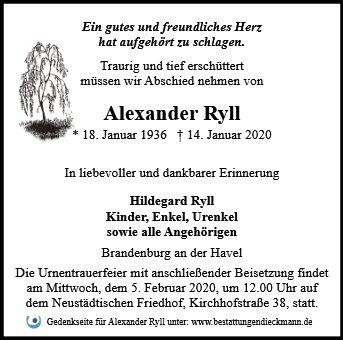 Profilbild von Alexander Ryll