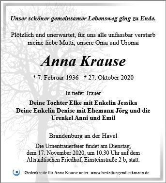 Profilbild von Anna Krause