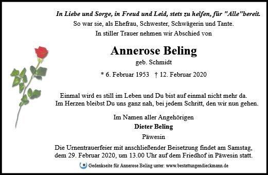 Profilbild von Annerose Beling