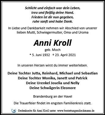 Profilbild von Anni Kroll