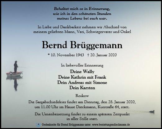 Profilbild von Bernd Brüggemann