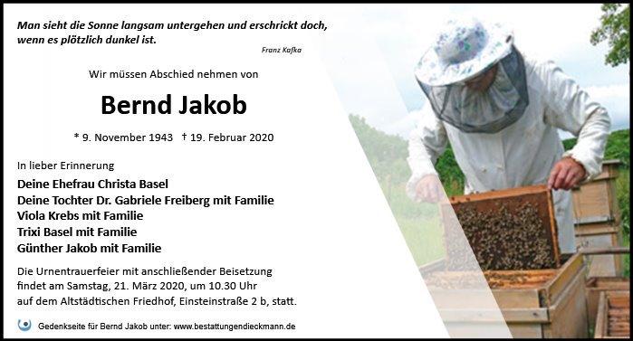Profilbild von Bernd Jakob