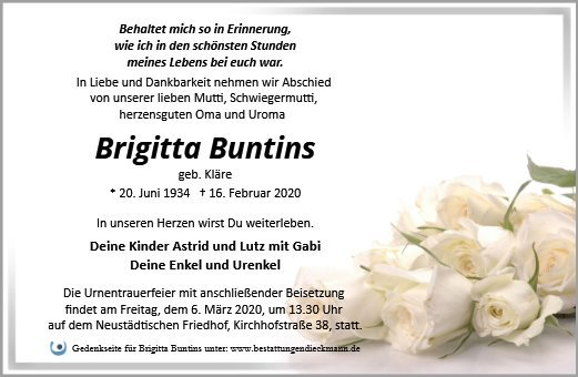 Profilbild von Brigitta Buntins