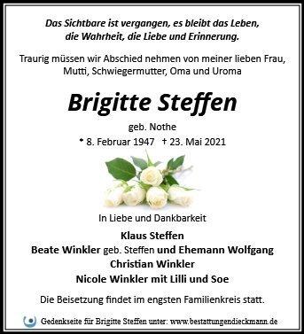 Profilbild von Brigitte Steffen