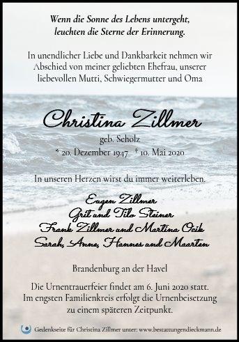 Profilbild von Christina Zillmer