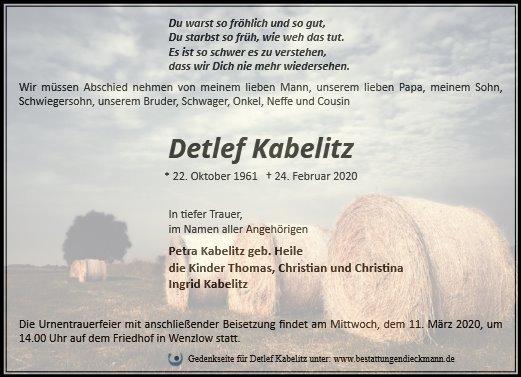 Profilbild von Detlef Kabelitz