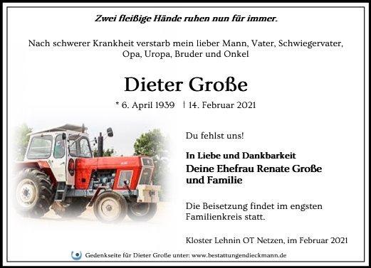 Profilbild von Dieter Große