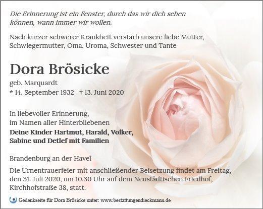 Profilbild von Dora Brösicke