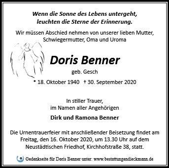 Profilbild von Doris Benner