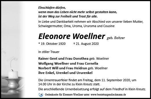 Profilbild von Eleonore Woellner