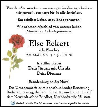 Profilbild von Else Eckert