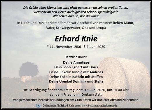Profilbild von Erhard Knie