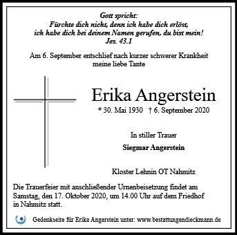 Profilbild von Erika Angerstein
