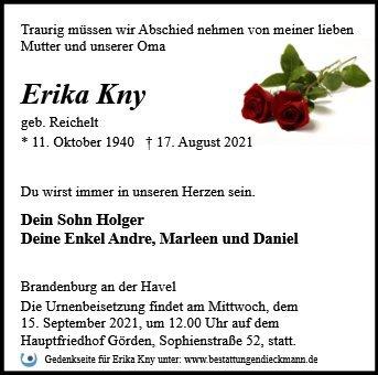 Profilbild von Erika Kny
