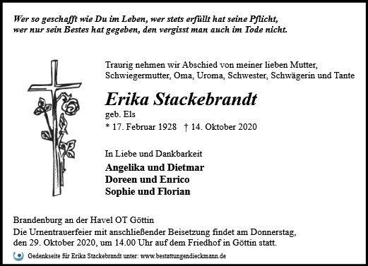 Profilbild von Erika Stackebrandt