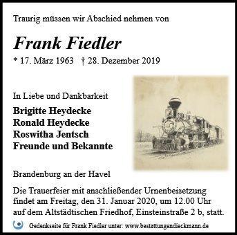 Profilbild von Frank Fiedler