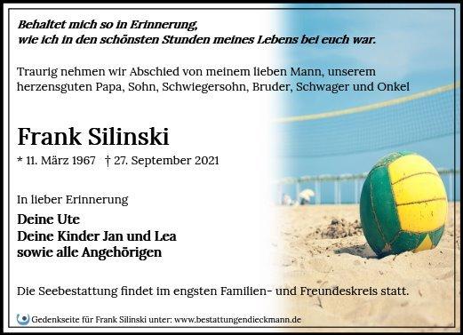 Profilbild von Frank Silinski
