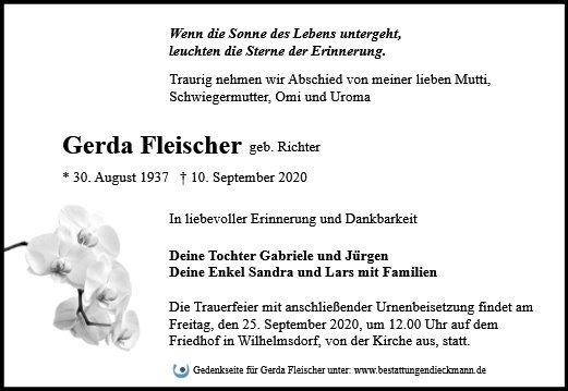 Profilbild von Gerda Fleischer