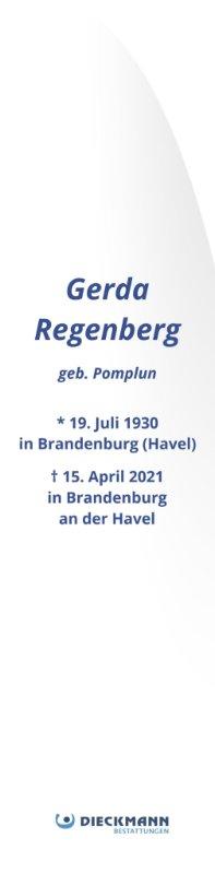 Profilbild von Gerda Regenberg