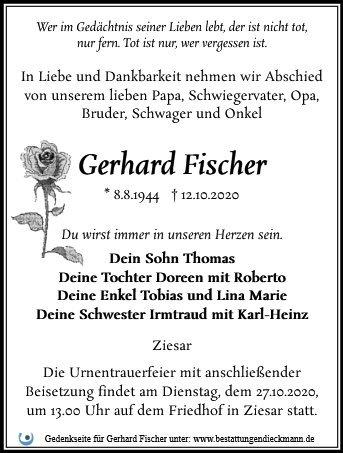 Profilbild von Gerhard Fischer