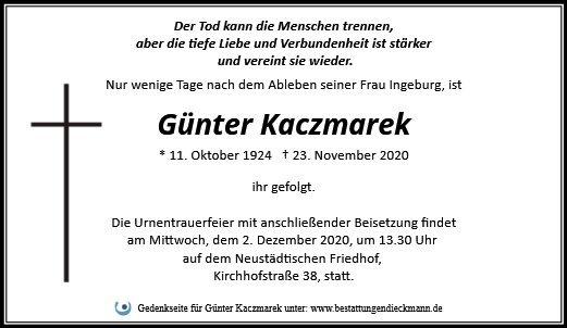 Profilbild von Günter Kaczmarek