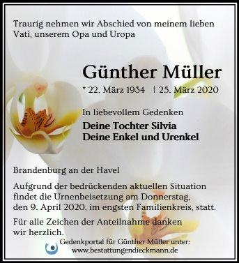 Profilbild von Günther Müller