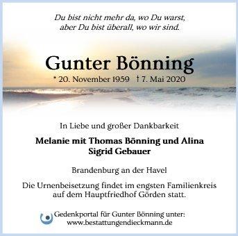 Profilbild von Gunter Bönning