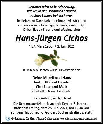 Profilbild von Hans-Jürgen Cichos