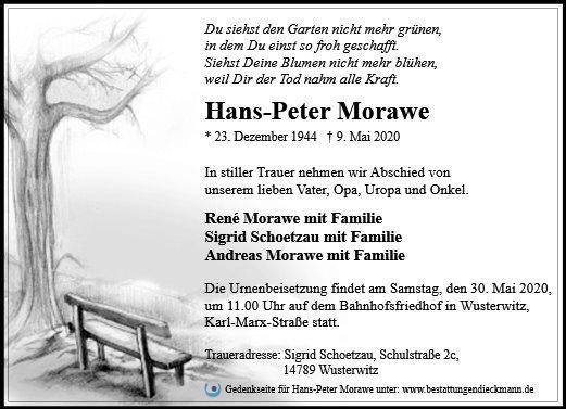 Profilbild von Hans-Peter Morawe