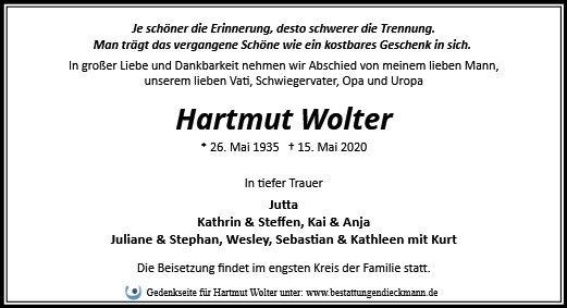 Profilbild von Hartmut Wolter