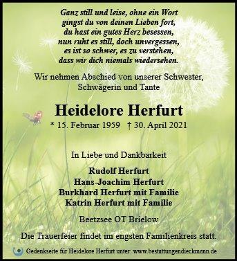 Profilbild von Heidelore Herfurt