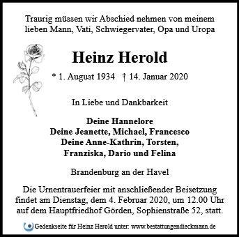 Profilbild von Heinz Herold