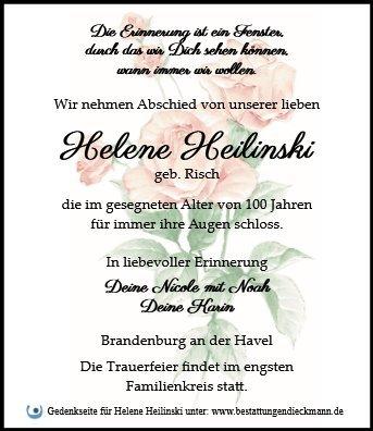 Profilbild von Helene Heilinski