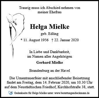 Profilbild von Helga Mielke