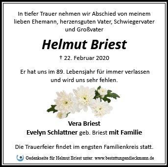Profilbild von Helmut Briest