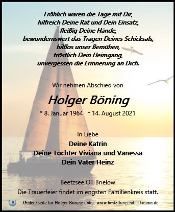 Profilbild von Holger Böning