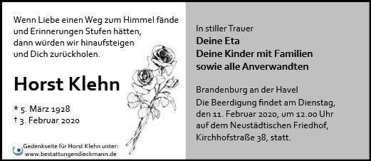 Profilbild von Horst Klehn