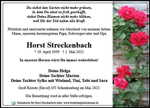 Profilbild von Horst Streckenbach