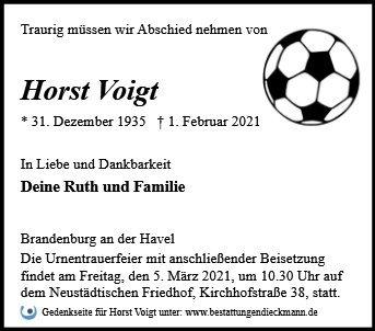Profilbild von Horst Voigt