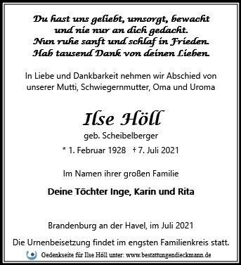 Profilbild von Ilse Höll