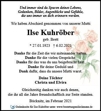 Profilbild von Ilse Kuhröber