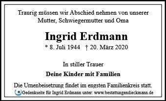Profilbild von Ingrid Erdmann