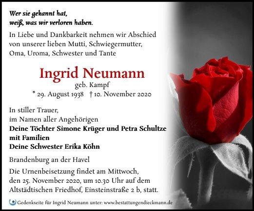 Profilbild von Ingrid Neumann