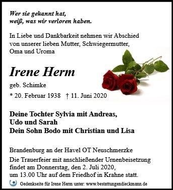 Profilbild von Irene Herm