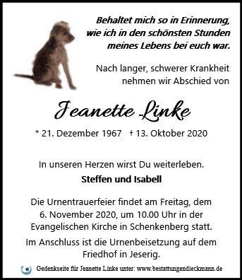 Profilbild von Jeanette Linke