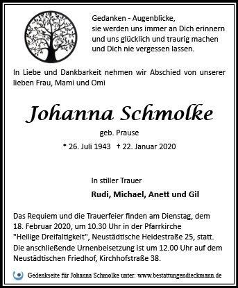 Profilbild von Johanna Schmolke