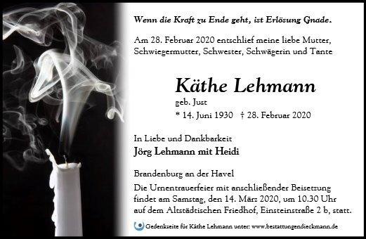 Profilbild von Käthe Lehmann