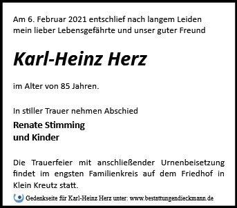 Profilbild von Karl-Heinz Herz