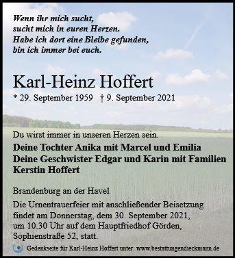Profilbild von Karl-Heinz Hoffert