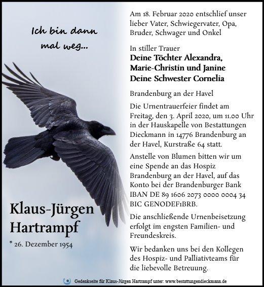 Profilbild von Klaus-Jürgen Hartrampf